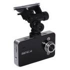 "K6000 2.7"" Full HD 1080P DV Car Camera DVR Camcorder Video Recorder w/ Night Vision - Black"