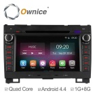 Ownice C200 quad core android 4.4 carro DVD player para greatwall H3 H5 haval hover rádio GPS nav