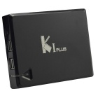 K1 Plus Amlogic S905 Quad Core A53 CPU 1GB/8GB (Nand Flash) Android 5.1.1 TV Box - Black (EU Plug)
