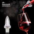 White Red Wine Aerator Pour Spout Bottle Stopper Aerating Decanter Pourer - White