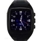 "X02 Business Waterproof MTK6572 Bluetooth V4.0 Android 4.2 Smart 1.6"" Watch Phone w/ GPS - Black"