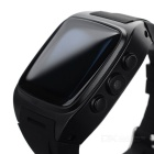 "PW306I Waterproof BT Android 4.2 Smart 1.6"" Watch Phone w/ GPS - Black"