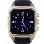"affari PW306II MTK6572 impermeabile Bluetooth V4.0 Android 4.2 Smart 1.6"" telefono orologio w / GPS"