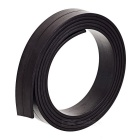 1000*15*2mm DIY Flexible Magnetic Strip Tape Rubber Magnet for Office & School - Deep Coffee