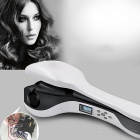 Professional Automatic Anion Hair Curler - Grey White + Black