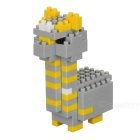 WLTOYS Alpaca Building Blocks Educational Toy for Children / Kids - Grey + Yellow