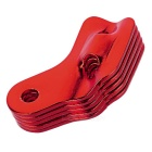 Tent Cord Rope Guy Line Runner Fastener Tensioner - Red (5PCS)