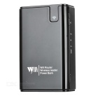 3G / Wi-Fi Router + 7800mAh Power Bank + Wireless Card Reader - Black