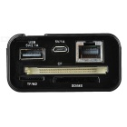 3G / Wi-Fi Router + Power Bank + Wireless Card Reader - Black