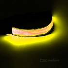 CTSmart Yellow Light 3-Mode LED Safety Warning Strap Arm Band - Yellow