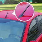 12cm Universal Short Carbon Fiber Car Radio Antenna - Black