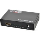 HDMI Splitter 1080p 3D HDMI 1.4 Switcher Output 1 x 4 HDMI Amplifier