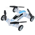 Syma X9A 2.4GHz 4-CH Fly & Drive Air-Ground Remote Control Quadcopter / Flying Car - White + Blue