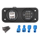DC Voltmeter / Car 5V 3.1A USB Power Charger Socket
