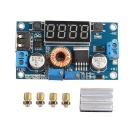 DC 5A Drive Lithium Battery Charger w/ Voltmeter Ammeter DC-DC Module