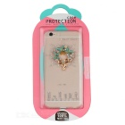 Rhinestones Back Case Cover for IPHONE 6 / 6S - Transparent