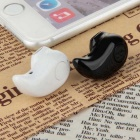 Mini Invisible Bluetooth 4.0 Sport In-Ear Earbud w/ Hands-free - Black