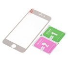 Tempered Glass Screen Protector for IPHONE 6 / 6S - Transparent + Gold