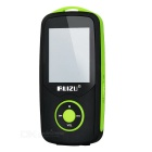 "RUIZU X06 MP3 Player w/ 1.8"" TFT, 3.5mm Jack, 4GB Memory - Black + Green"