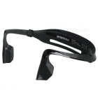 Ordro EP1 Bone Conduction Bluetooth V4.0 Stereo Neckband Headphone Headset w/ Mic. - Black