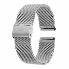 Stainless Steel Watch Band for Motorola MOTO 360 2 46mm -Silver