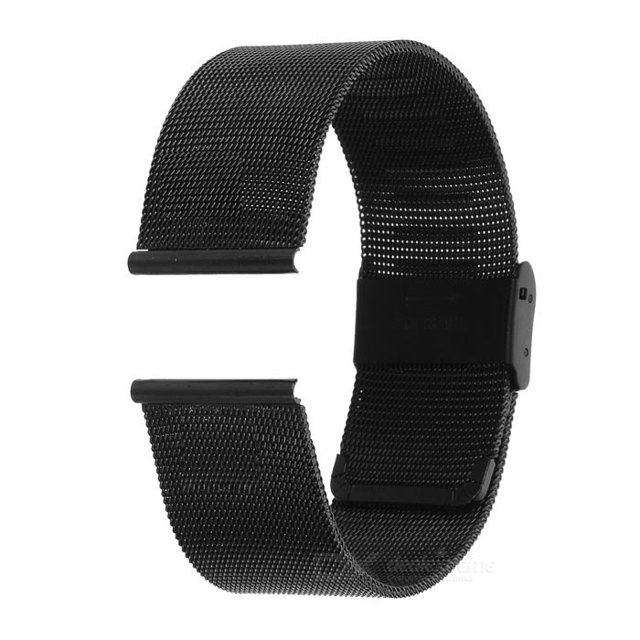 Stainless Steel Watch Band for Motorola MOTO 360 2 46mmWearable Device Accessories<br>Form  ColorBlackQuantity1 DX.PCM.Model.AttributeModel.UnitMaterialStainless steelPacking List1 x Watchband2 x Pins<br>