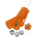CTSmart Orange 3-Mode LED Safety Warning Bike Spoke Light - Orange