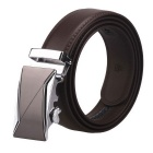 Men's Automatic Buckle Belt - Brown (110cm)