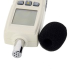 "BENETECH GM1352 Digital 1.7"" LCD Sound Level Meter - Ivory White"