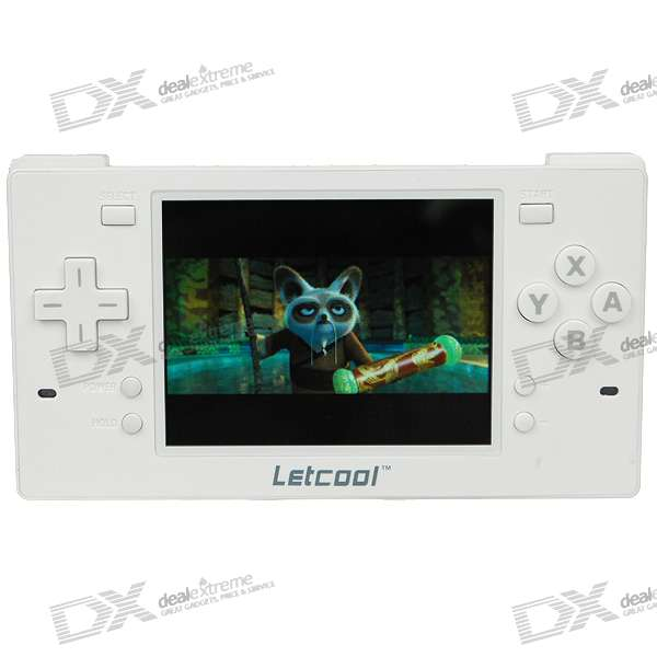 "3.5"" TFT Media Player/Game Console with FM + 300KP Camera + TF Card Slot + TV Out/In (4GB)"