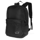 EDCGEAR Outdoor Travel Folding Portable Lightweight Nylon Shoulders Bag Backpack - Black