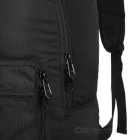 EDCGEAR Travel Folding Nylon Shoulders Bag Backpack - Black