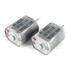 DC 6V-24V High-Speed-Mikro-Motor 130-type Schachtdurchmesser 2mm (2PCS)