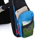 LOCAL LION Cycling Backpack / Hiking Fishing Bag - Blue + Red (20~25L)