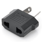 Draagbare AU Plug naar VS / EU Socket Power Adapter - zwart (250 v / 5 pc's)