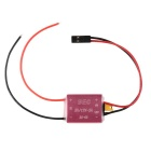 UBEC Power Module 2-6S Aluminum Alloy Shell Red 5V/3A Adjustable - Red