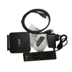 T95 Amlogic S905 Quad-core CPU Android 5.1 TV Box - Black EU Plug
