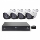 Cotier N4BM / Kit NVR Systeem Mini 4-CH NVR 1.3MP P2P HD IP Camera