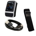"Smart Sports reproductor de música MP3 pulsera w / 1.41"" TFT 4GB - plata + negro"