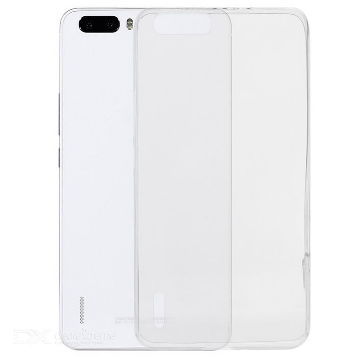 Ultra-Thin Protective Back Case for Huawei Honor 6 Plus - Transparent