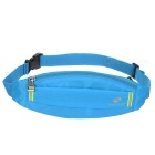 NUCKILY PM10 Waterproof Outdoor Sport Running Nylon Waistbag - Blue