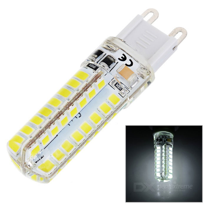 G9 4.2W LED Night Lamp Light Nightlight Cold White 351lm 64-SMD 2835