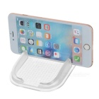 Car Anti-Slip PU Mat Pad Holder for Cellphone & More - Transparent