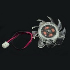 Jtron DC 12V 0.18A 3.6cm Cooling Fan - Transparent