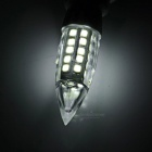 G9 5W LED Bulb Lamp Cold White Light 459lm 44-SMD Bullet Shape (3PCS)