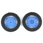 Smart Car Model Wearable Rubber Wheel for 130-type Motor (47 x 12mm / 2PCS )