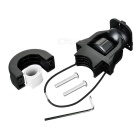 NUCKILY H671 Cycling Bike Phone Holder w/ Fixing Accessory - Black