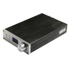 Feixiang Pure Digital Power D802 Remote USB / Optical / Coaxial Input Hi-Fi Amplifier - Black+Silver