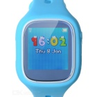 L22 PLUS Bluetooth Smart Watch Support Accurate GPS Positioning Intercommunication for Kids - Blue