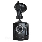 "Ordro X2 2.4"" CMOS 130' Wide-Angle 3.0MP Car DVR Camera w/ GPS / IR Night Vision / G-Sensor - Black"